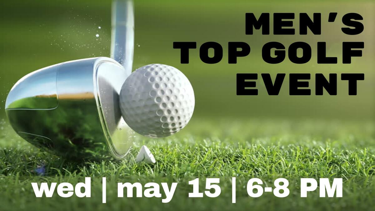 Men's Topgolf Event