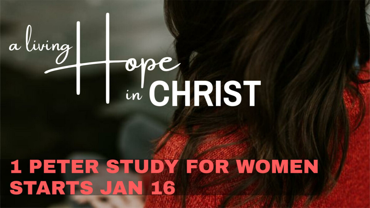 1 Peter: A Living Hope in Christ study