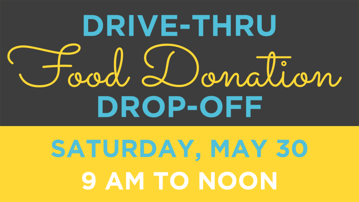 Drive-thru Food Donation Drop-off