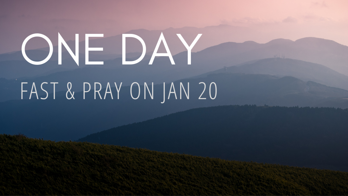One Day to Fast & Pray