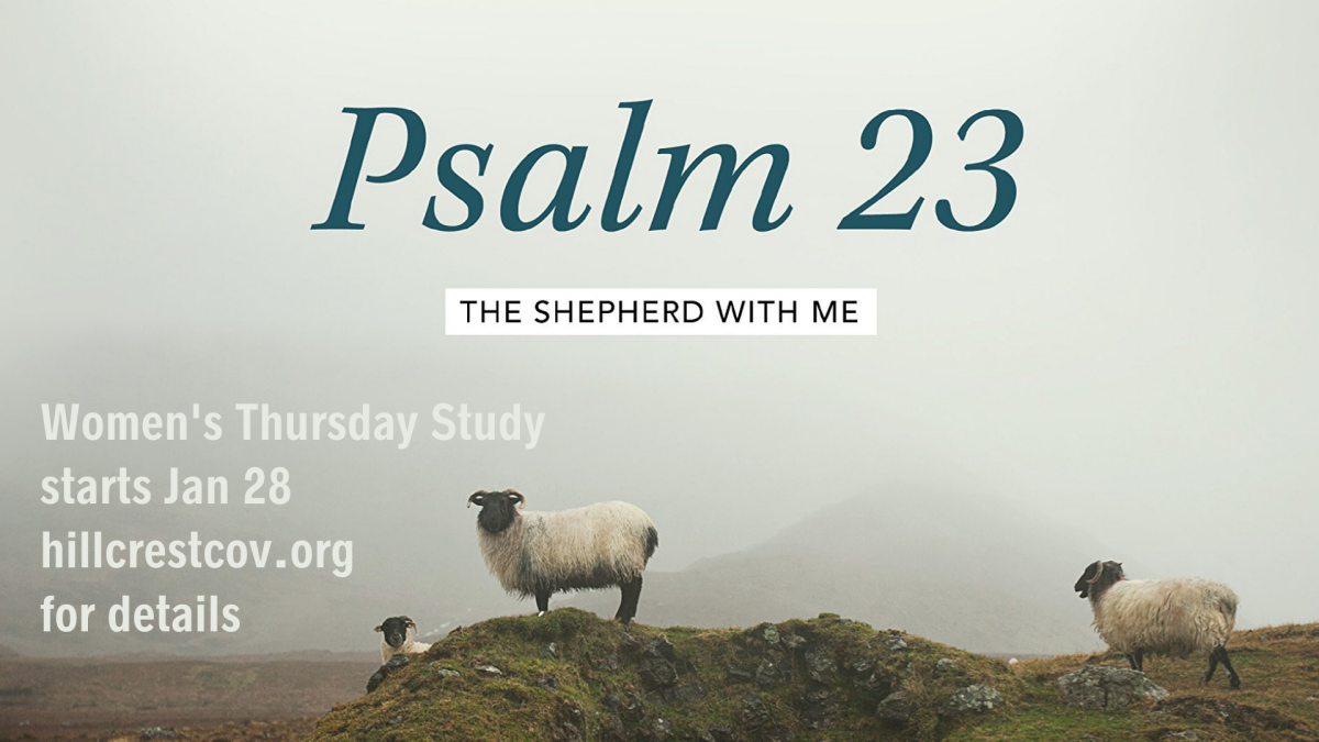 Psalm 23: The Shepherd with Me